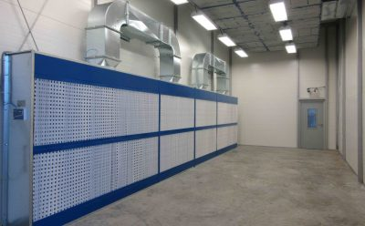About paint booths and drying systems