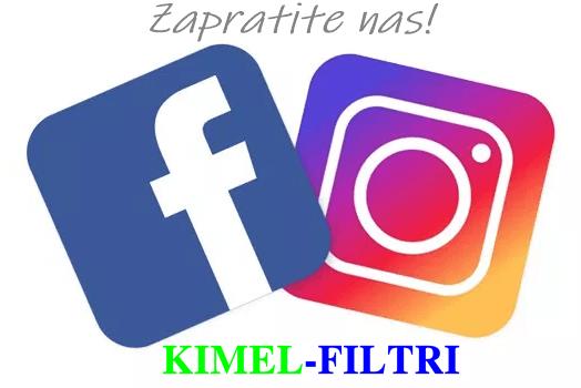 KIMEL-FILTRI na društvenim mrežama!